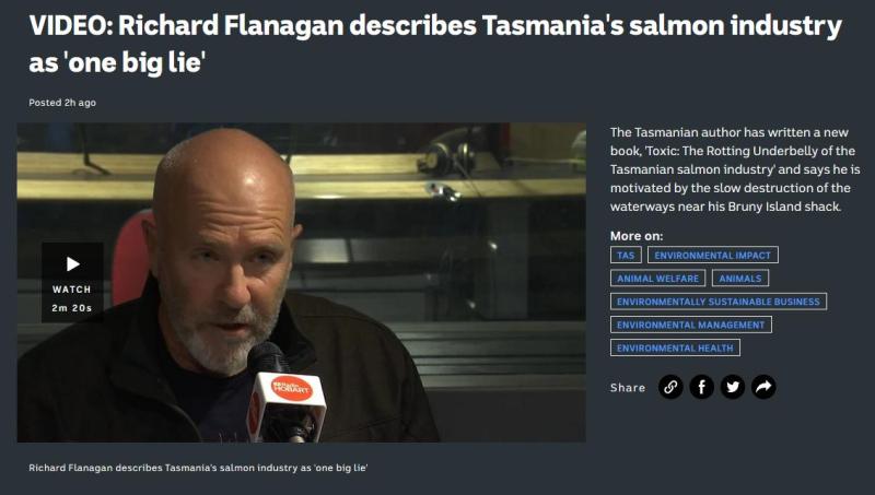 Toxic book Richard Flanagan #13