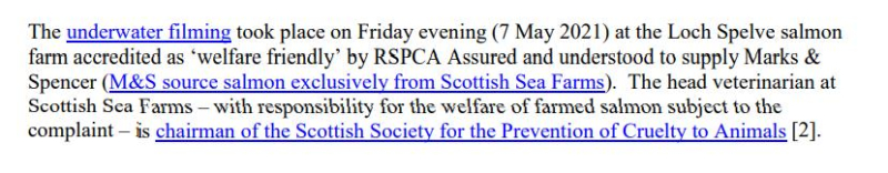 PR Video Exposes RSPCA Abused Scottish Salmon May 2021 #2
