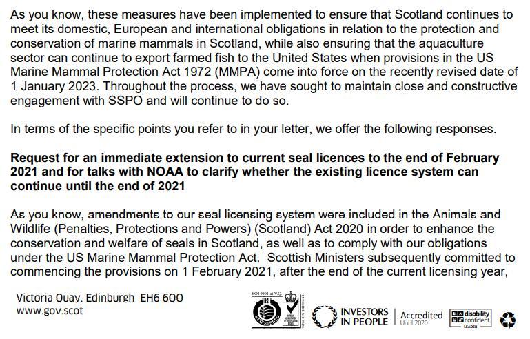 SG FOI 202100209041 letter 25 June 2021 #21 SSPO lobbying