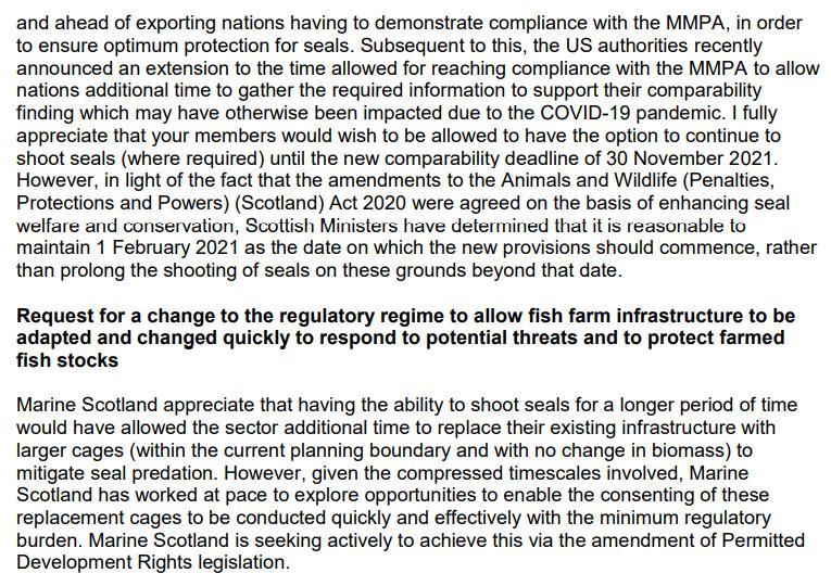SG FOI 202100209041 letter 25 June 2021 #22 SSPO lobbying