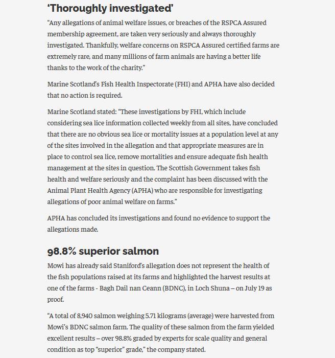 RSPCA clear Mowi 29 July 2021 #4