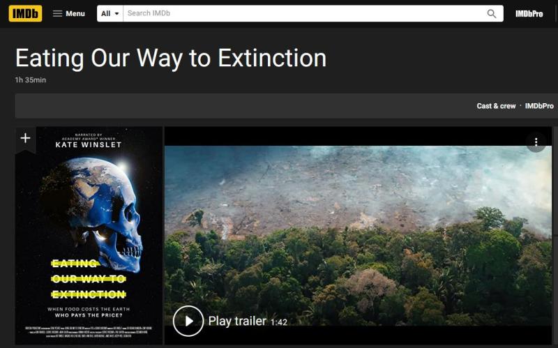 Eating Extinction Aug 2021 blog #1