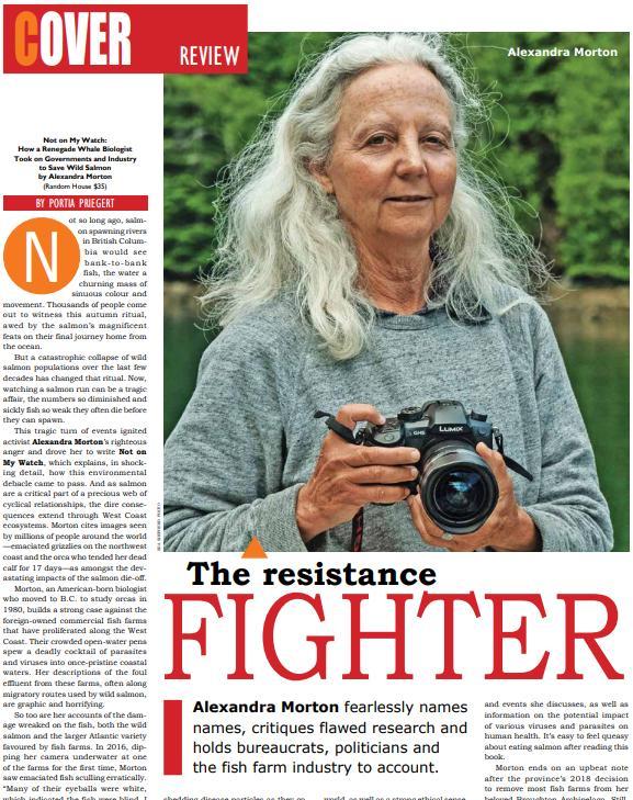 Alexandra Morton resistance fighter