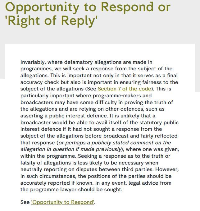 Journalistic Code of Ethics #4