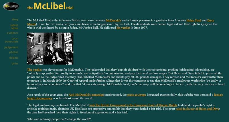 McLibel #3