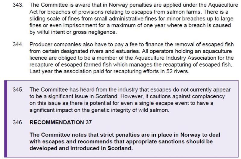 RECC recommendation Nov 2018 fines