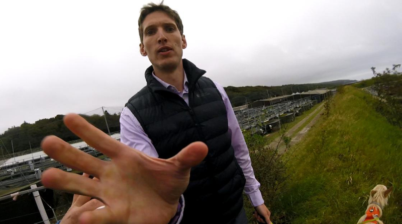8 September 2020 #3 Jarl Van Der Berg grabbing camera