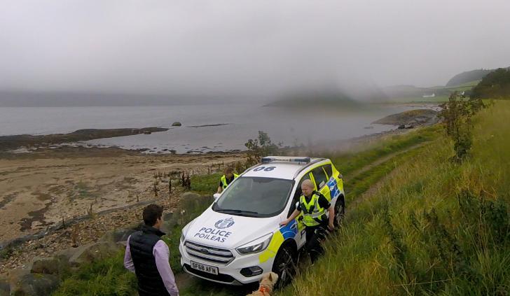 8 September 2020 #7 Police with Jarl