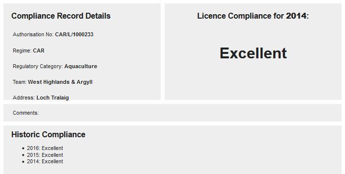 Compliance 2014 Excellent