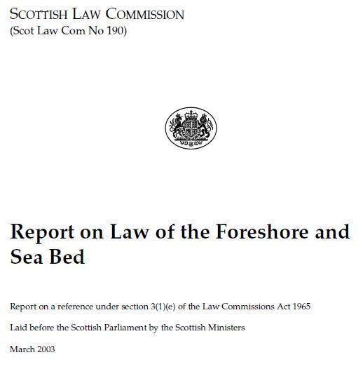 Scottish Law Commission 190 #1