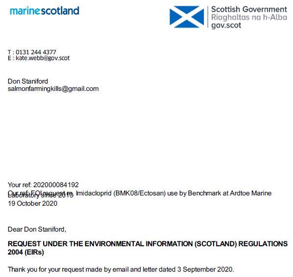 Letter FOI reply Ardtoe 19 Oct 2020 #1