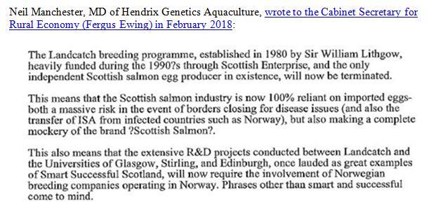Landcatch history hypocrisy #2