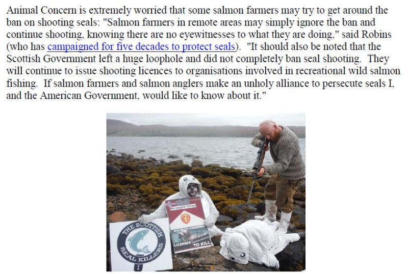PR Illegal Killing of Seals by Scottish Salmon Farms 25 Feb 2021 #12 John quote