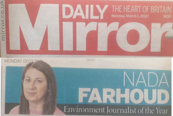Daily Mirror 1 March 2021 newspaper version #1