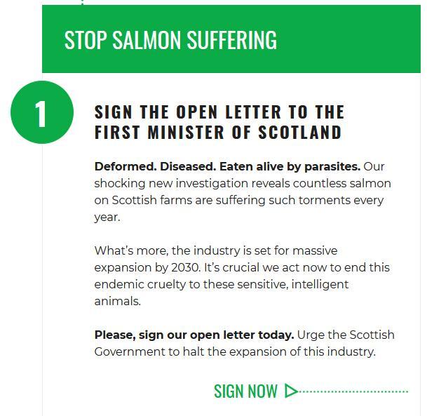 CIWF petition #2 Letter to FM Scotland