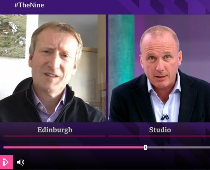 BBC Scotland The Nine 6 April 2021 #6 Tavish & Martin on diseases