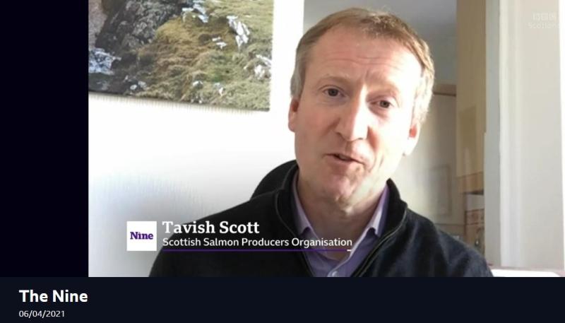 BBC Scotland The Nine 6 April 2021 #4 Tavish SSPO name