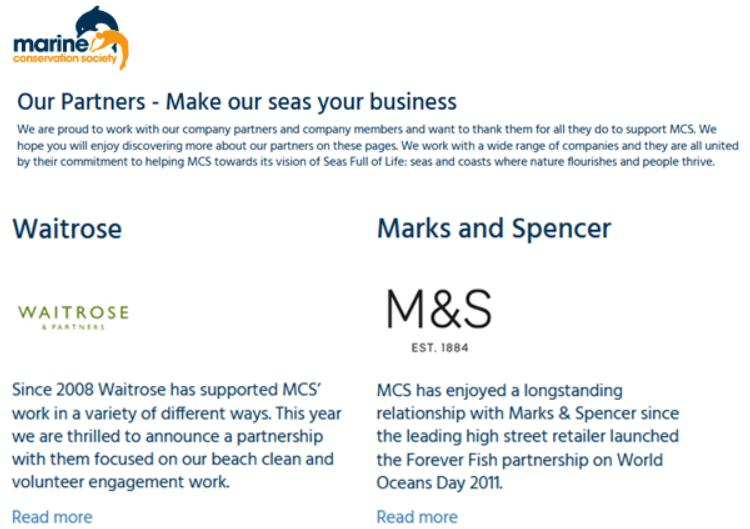 MCS partners M&S Waitrose