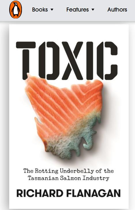 Toxic book Richard Flanagan