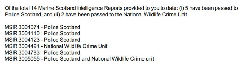 SG letter 1 April 2021 Response-202100155371 #1 intelligence reports passed