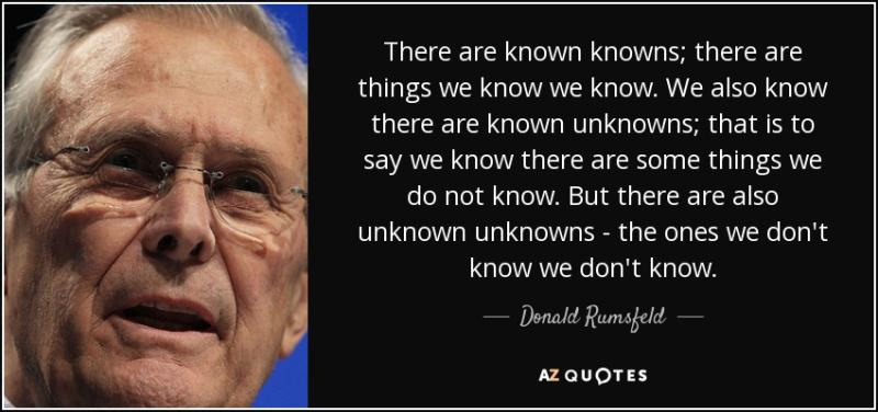 Blog Rumsfeld #5