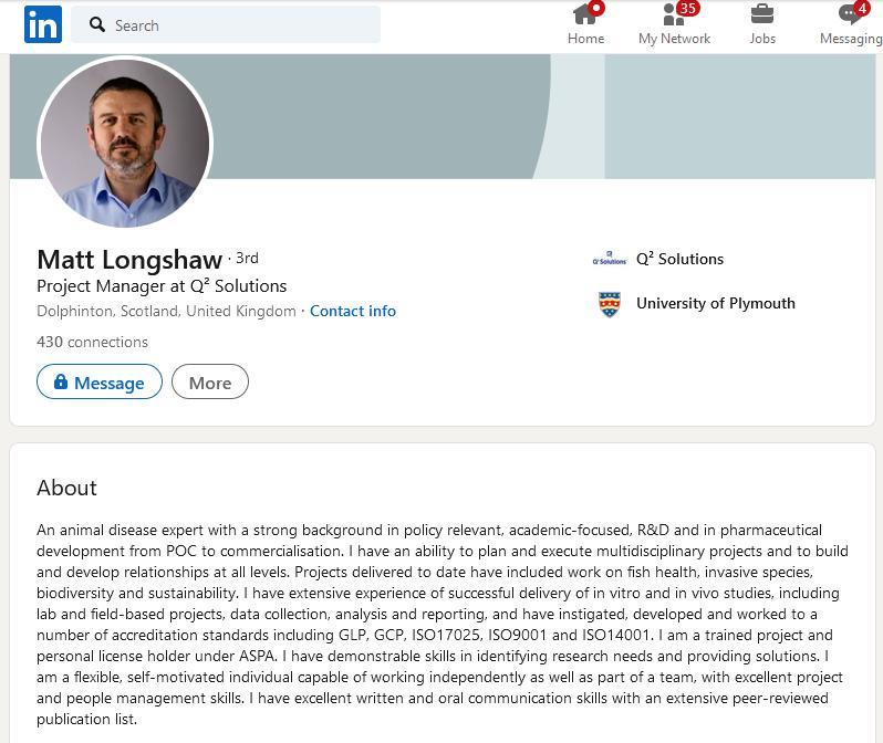 Matthew Longshaw Linkedin #1