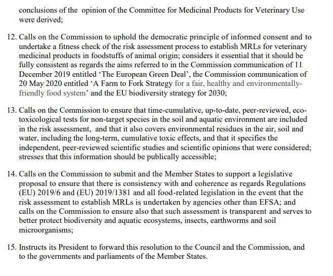 Imidacloprid EU Draft Motion for a Resolution 27 May 2021 #12