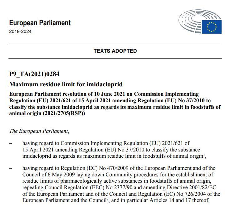 EP vote 9 June 2021 #26