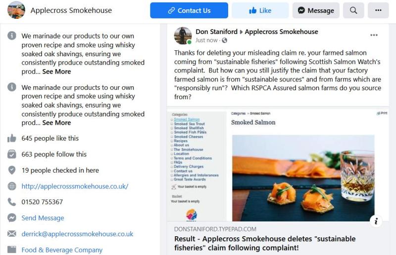 Applecross Smokehouse blog June 2021 #6 Facebook post #2