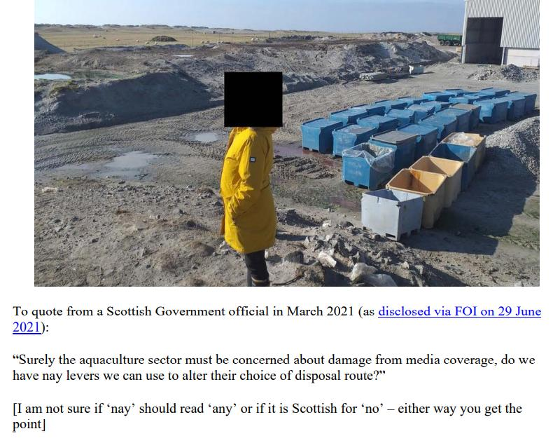 Letter to Scottish Ministers #2