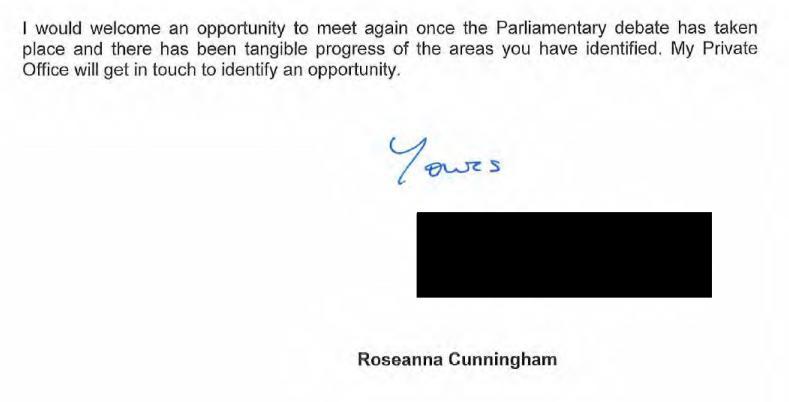 SG FOI 202100209041 letter 25 June 2021 #5 SSPO lobbying