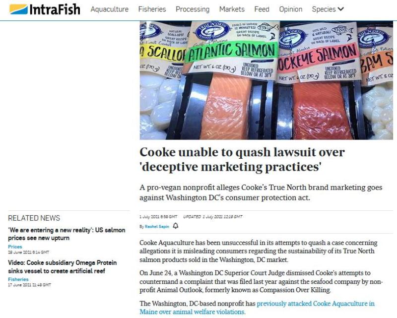 Cooke lawsuit July 2021 #1