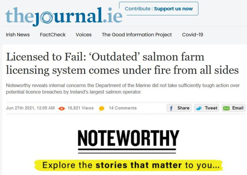 Salmondemic blog July 2021 #33 Altan