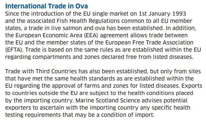 Salmondemic blog July 2021 #43 import data rules