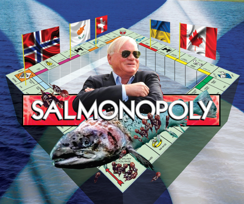 Salmonopoly with Fredriksen