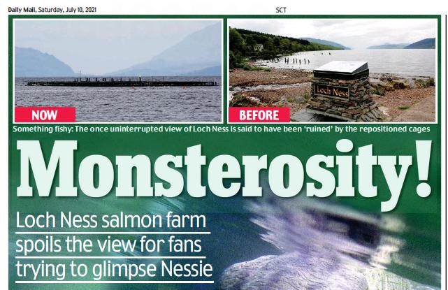 Daily Mail Loch Ness 10 July 2021 #2