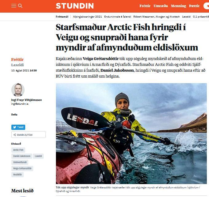 Iceland News #2 Veiga