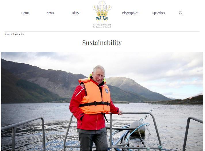 Prince Charles Sustainabilty