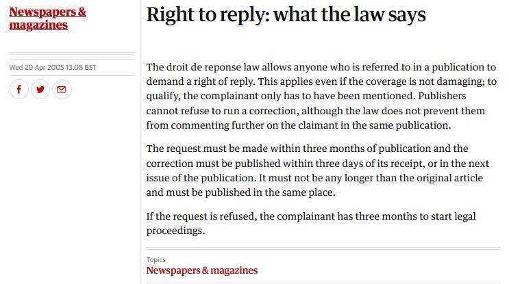 Journalistic Code of Ethics #5