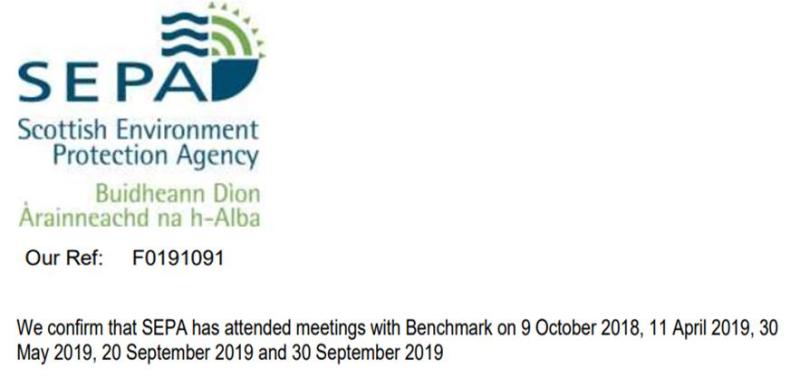 SEPA meetings Benchmark