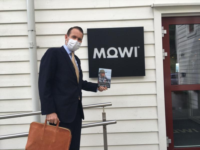 Frederik Mowinckel at Mowi AGM June 2021