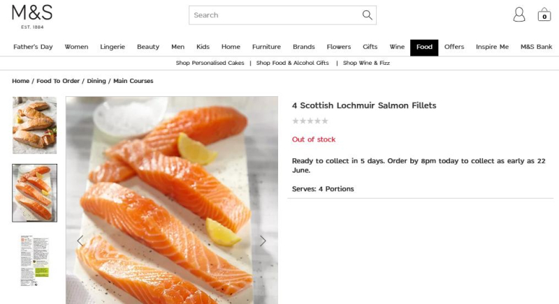 Lochmuir out of stock
