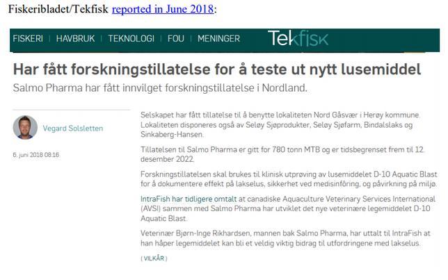 Norway Imidacloprid blog June 2021 #6