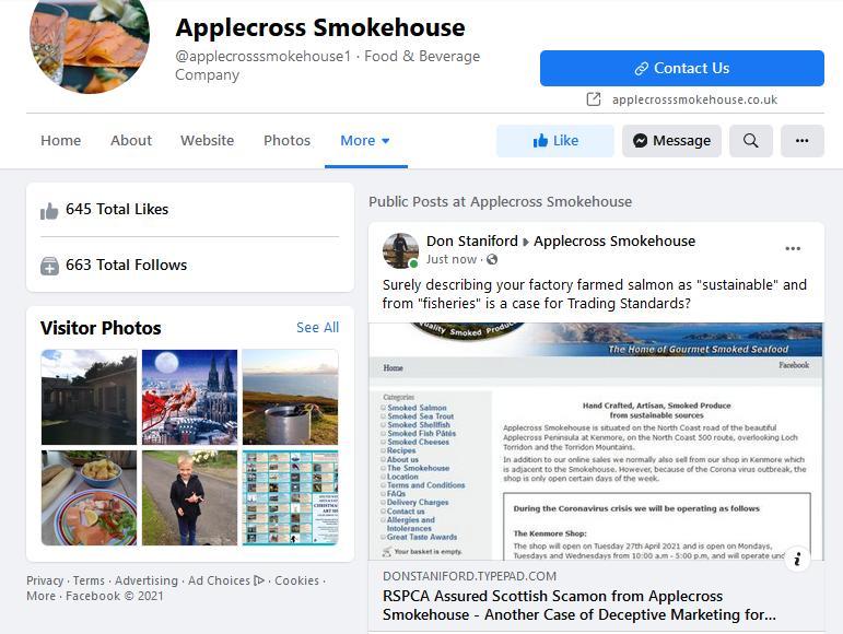 Applecross Smokehouse blog June 2021 #5 Facebook post