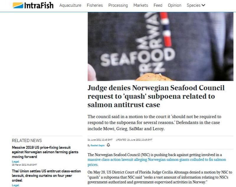 Norway lawsuit June 2021 #1