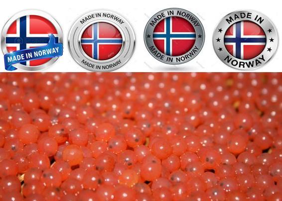 Norway eggs graphic