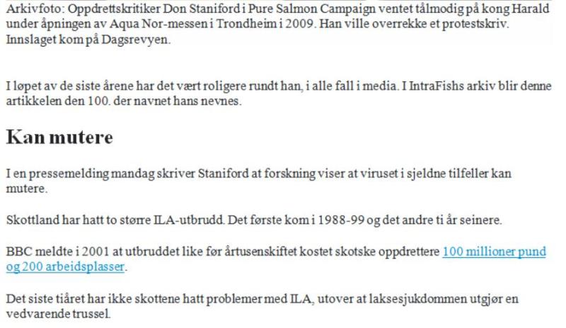 Intrafish 31 Aug ISA story in Norwegian #4