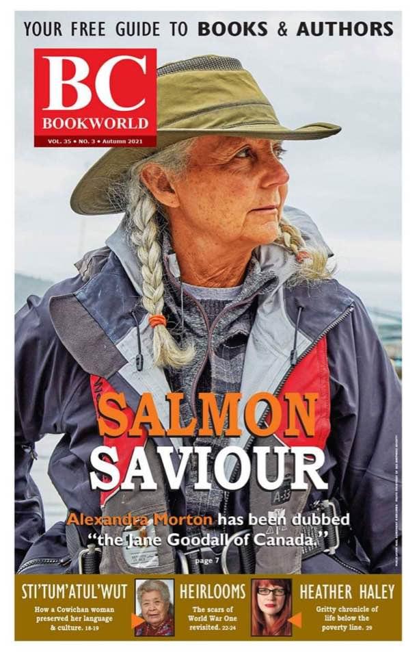 Alexandra Morton salmon saviour