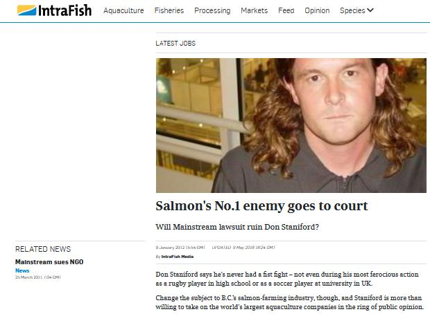 Intrafish 11 Oct 2021 Mowi fed up with activist taking brains to court #13