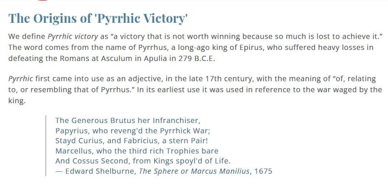 Pyrric blog #3
